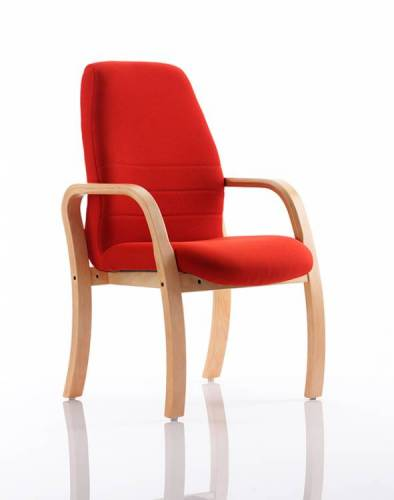Ascot Executive Wooden Visitor Chair