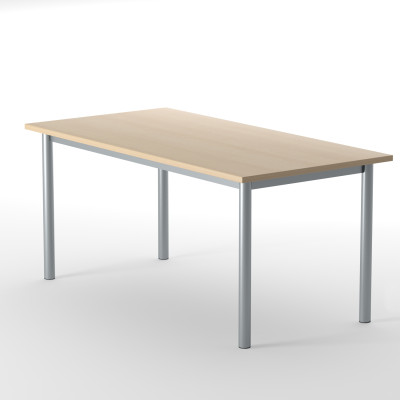 Desk  Top With Metal Frame 800 x 800 H=720