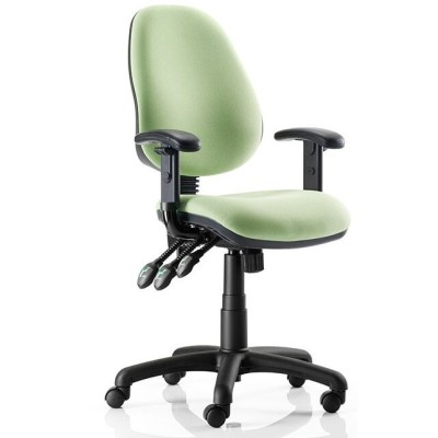 Kirby High Back Task Chair With Height Adj. Arms