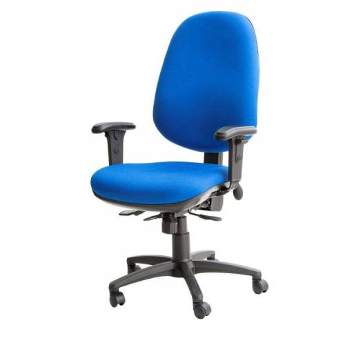 Kirby Jumbo Task Chair Fully Loaded With Lumber & Seat Slide
