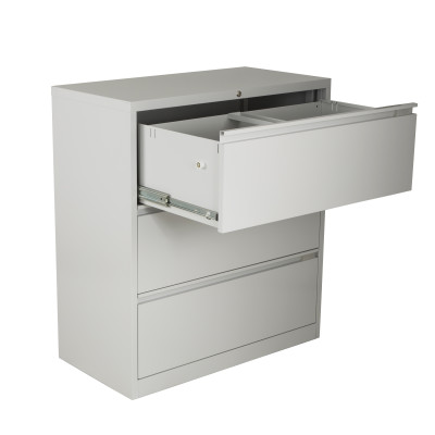 Premium Lateral Filing Cabinet 3 Drawer